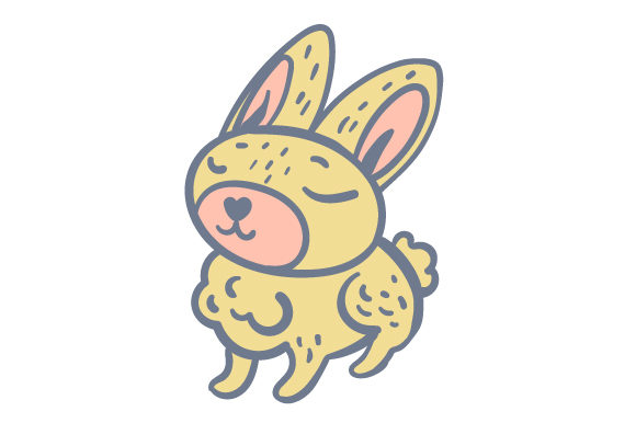 Download Free Woodland Animal Bunny Svg Cut File By Creative Fabrica Crafts for Cricut Explore, Silhouette and other cutting machines.