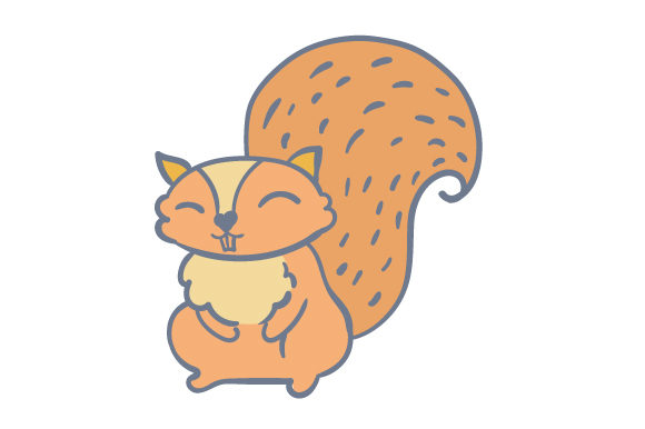 Download Free Woodland Animal Squirrel Svg Cut File By Creative Fabrica Crafts for Cricut Explore, Silhouette and other cutting machines.