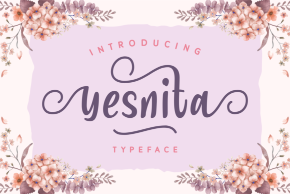 Print on Demand: Yesnita Script & Handwritten Font By Dani (7NTypes)