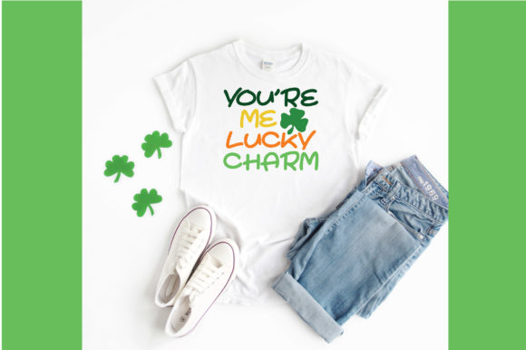 Print on Demand: You're Me Lucky Charm SVG Graphic Crafts By oldmarketdesigns - Image 3