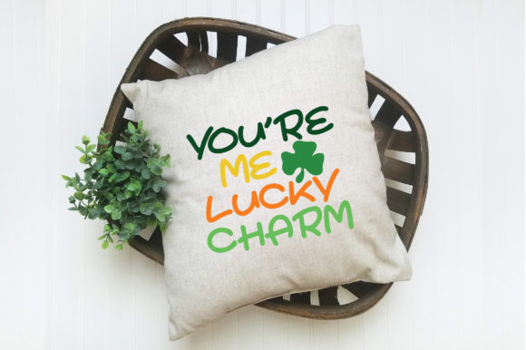 Print on Demand: You're Me Lucky Charm SVG Graphic Crafts By oldmarketdesigns - Image 4