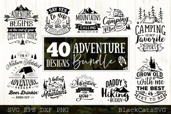 Adventure Bundle Graphic Crafts By BlackCatsMedia - Image 4
