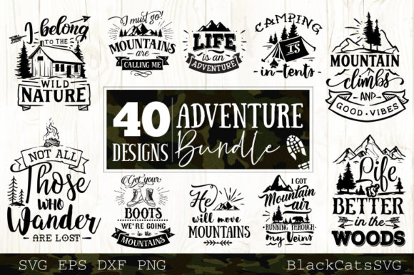 Adventure Bundle Graphic Crafts By BlackCatsMedia - Image 1