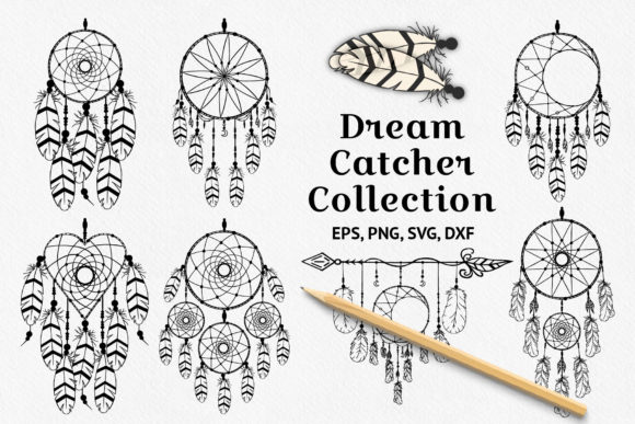 Dream Catcher Designs Graphic Illustrations By Kirill's Workshop
