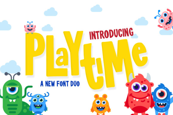 Print on Demand: Playtime Display Font By Salt & Pepper Designs