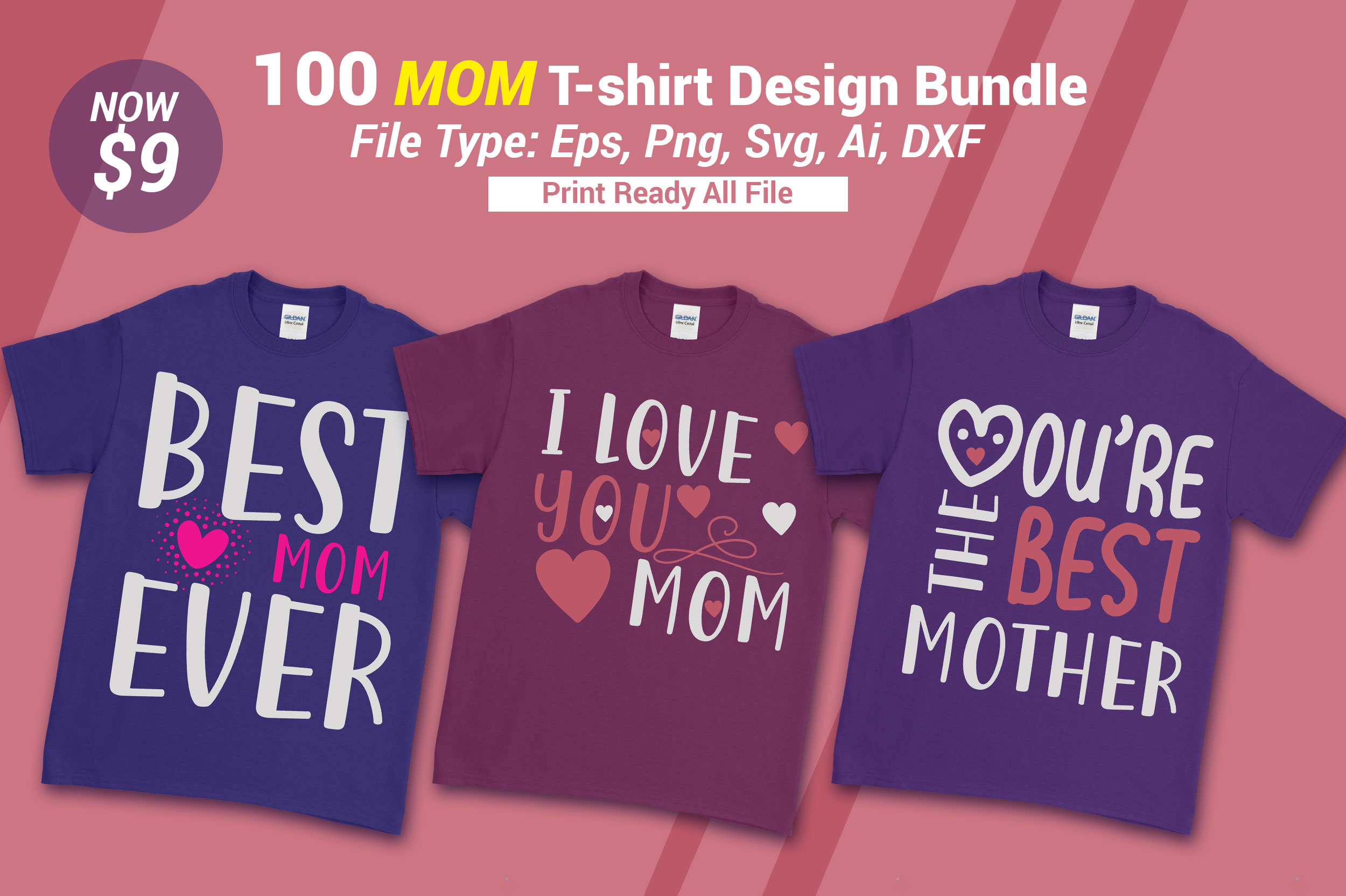Mom T Shirt Bundle Graphic By Subornastudio Creative Fabrica