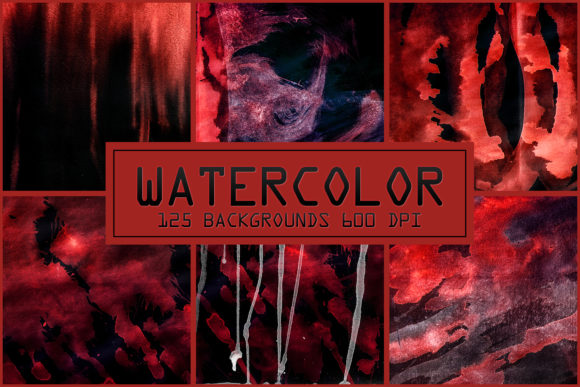 125 Watercolor Backgrounds Textures Overlays Graphic Layer Styles By 2SUNSoverlays - Image 4