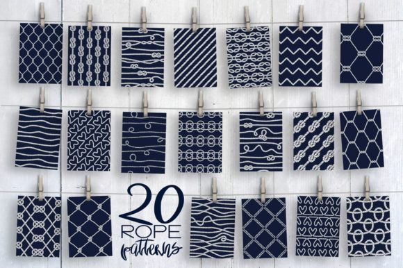20 Rope Patterns Graphic Patterns By Anastasiia Macaluso