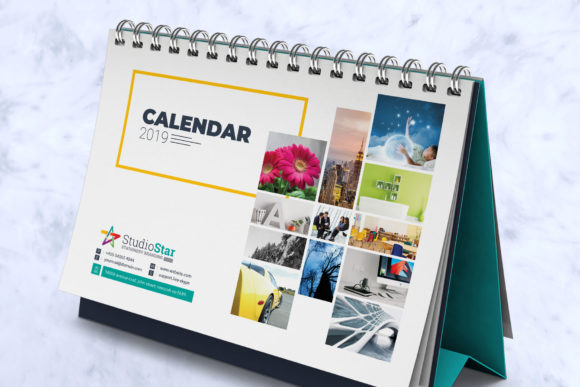 Download Free 2019 Desk Table Calendar Planner Grafik Von Contestdesign for Cricut Explore, Silhouette and other cutting machines.