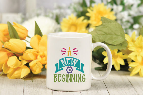 A New Beginning SVG Cut File Graphic By oldmarketdesigns Image 3