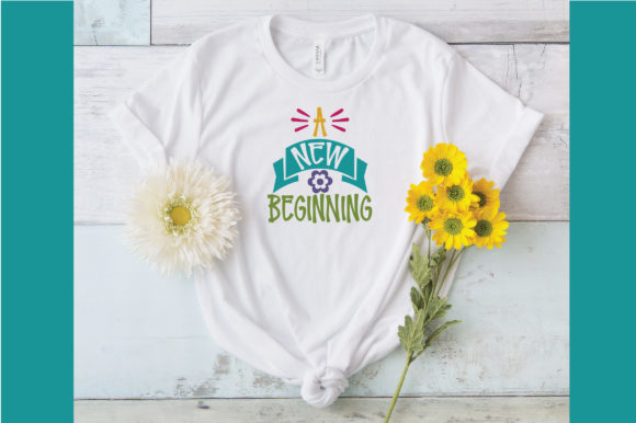 A New Beginning SVG Cut File Graphic By oldmarketdesigns Image 4