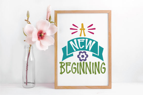 A New Beginning SVG Cut File Graphic By oldmarketdesigns Image 5