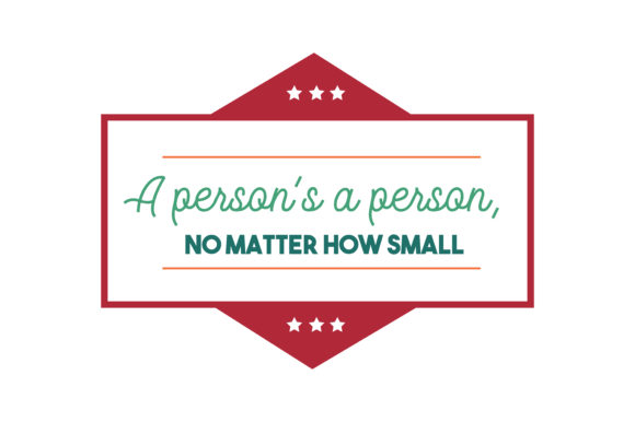 Download Free A Person S A Person No Matter How Small Quote Svg Cut Graphic for Cricut Explore, Silhouette and other cutting machines.