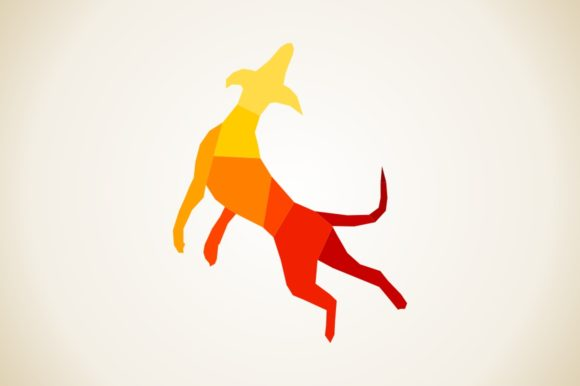 Abstract Dog Graphic Illustrations By design60