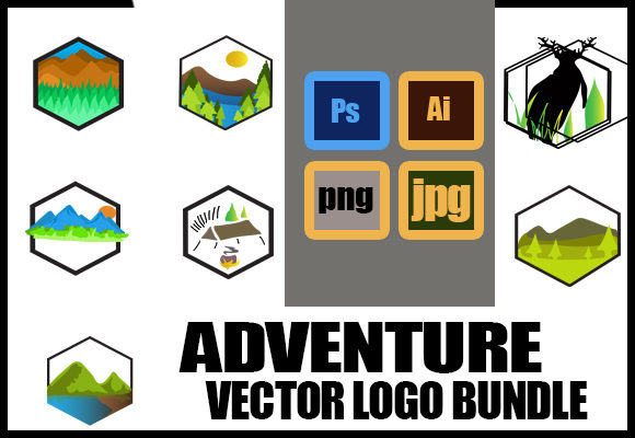 Adventure Bundle Graphic Full Color Graphic Icons By ahmaddesign99 - Image 3