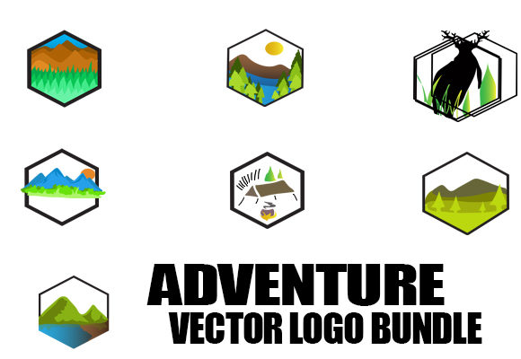 Adventure Bundle Graphic Full Color Graphic Icons By ahmaddesign99