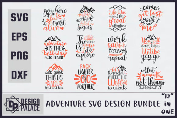 Adventure Bundle Graphic Crafts By Design Palace