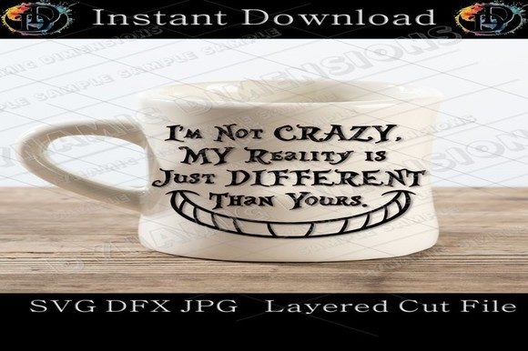Print on Demand: Alice in Wonderland SVG Graphic Crafts By dynamicdimensions