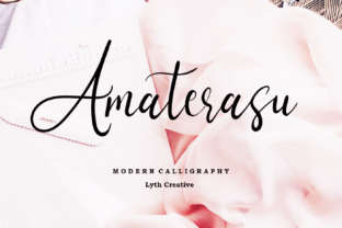 Download Free Amaterasu Font By Lyanatha Creative Fabrica for Cricut Explore, Silhouette and other cutting machines.