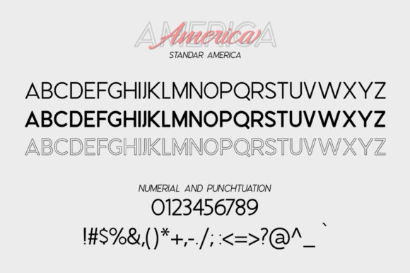 Print on Demand: Hangberd America Duo Script & Handwritten Font By Zane Studio - Image 6