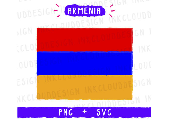 Print on Demand: Armenia Europe Graphic Icons By Inkclouddesign