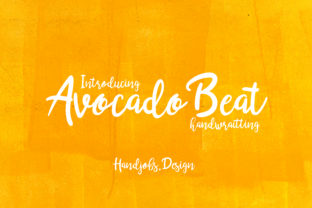 Avocado Beat Font By Hdjs.design