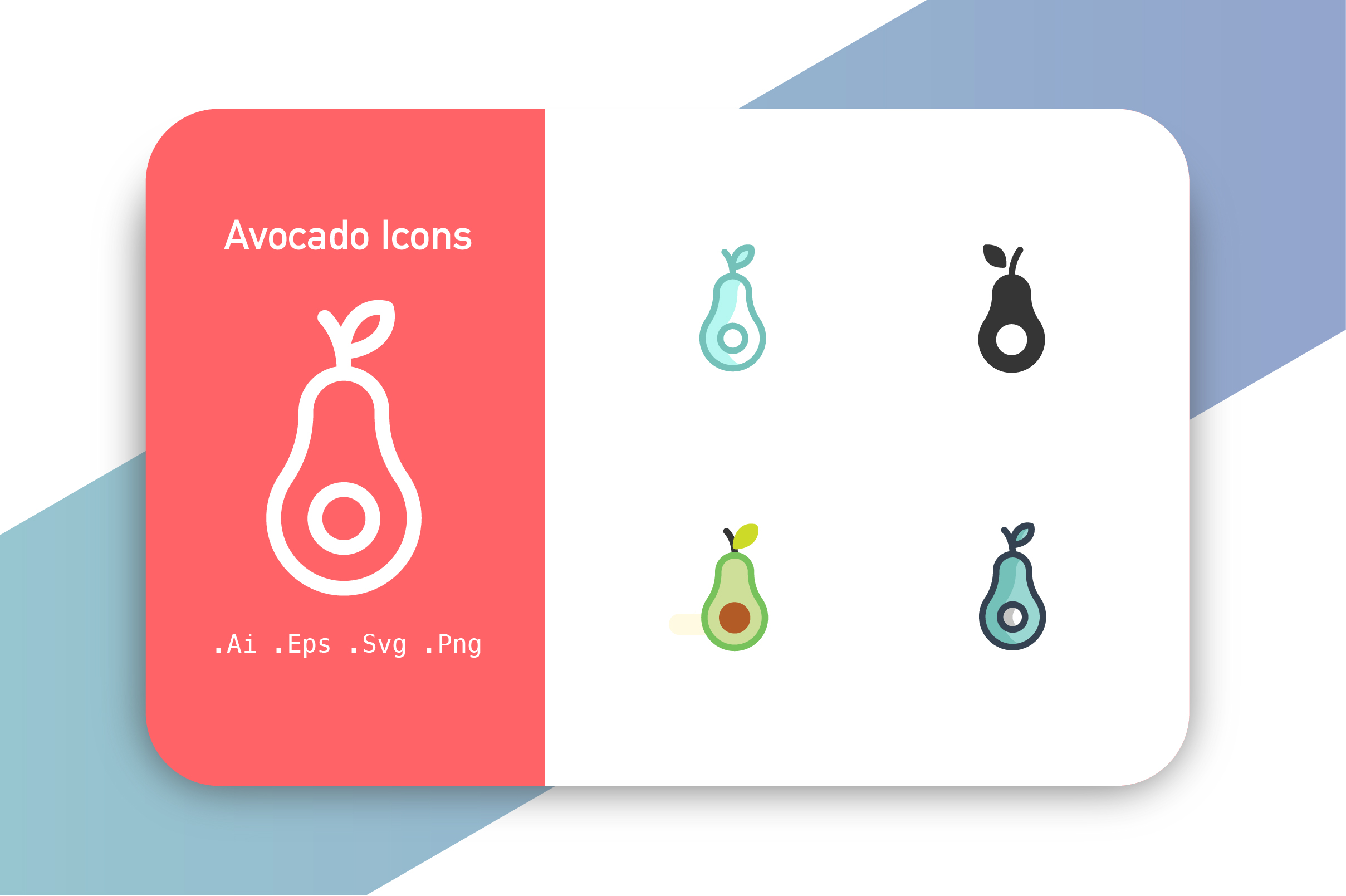 Download Free Avocado Graphic By Hellopixelzstudio Creative Fabrica for Cricut Explore, Silhouette and other cutting machines.