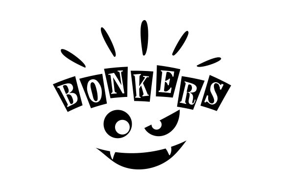 Download Free Bonkers Svg Cut File By Creative Fabrica Crafts Creative Fabrica for Cricut Explore, Silhouette and other cutting machines.