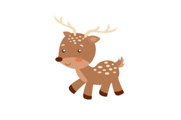 Download Free Baby Deer Cartoon Archivos De Corte Svg Por Creative Fabrica for Cricut Explore, Silhouette and other cutting machines.