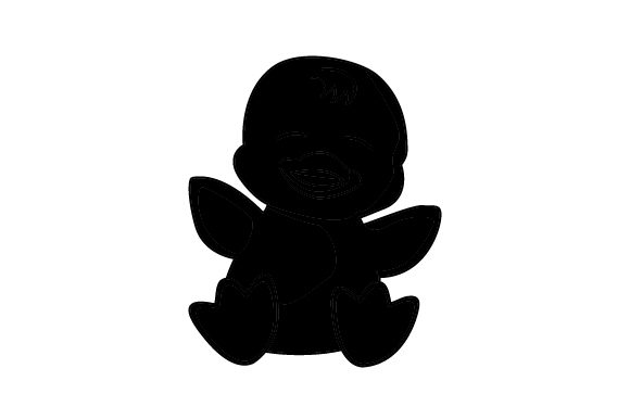 Download Free Baby Duck Cartoon Svg Cut File By Creative Fabrica Crafts for Cricut Explore, Silhouette and other cutting machines.