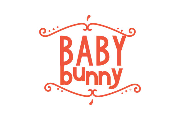Print on Demand: Baby Bunny Quote SVG Cut Graphic Crafts By TheLucky
