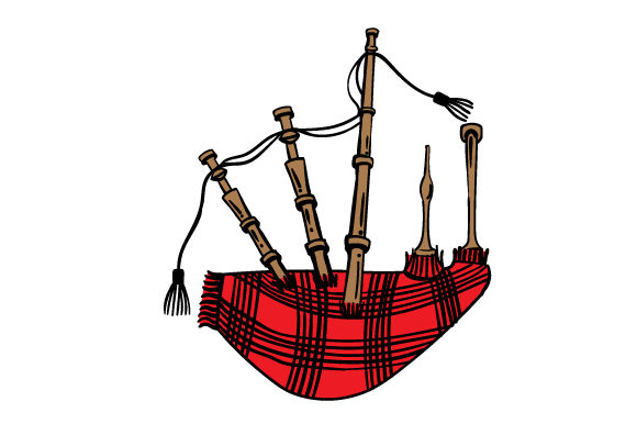 Bagpipe Craft Design By Creative Fabrica Crafts Image 1
