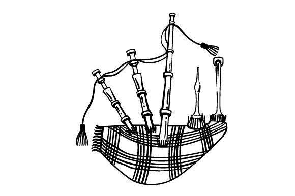 Bagpipe Craft Design By Creative Fabrica Crafts Image 2