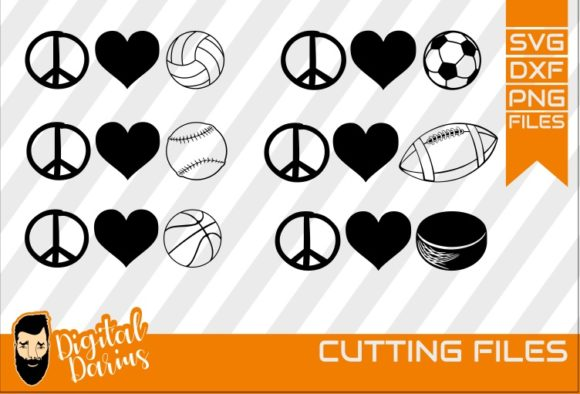 Download Free Ball Pack Svg Graphic By Digitaldarius Creative Fabrica for Cricut Explore, Silhouette and other cutting machines.