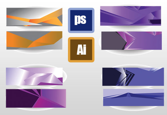 Banner Modern Set Graphic Illustrations By ahmaddesign99 - Image 1