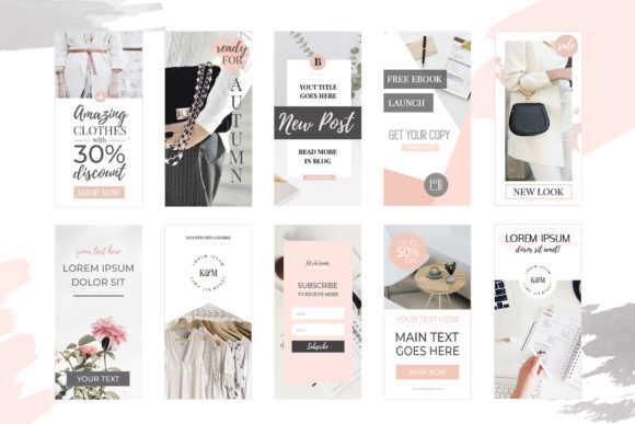 Download Free Banners For Blog Or Pinterest V 2 Graphic By Switzershop SVG Cut Files