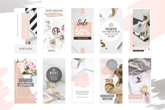 Banners for Blog or Pinterest Graphic By switzershop Image 2