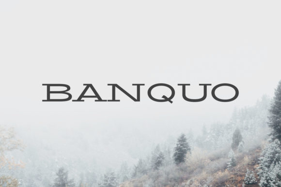 Print on Demand: Banquo Family Serif Font By Creative Tacos