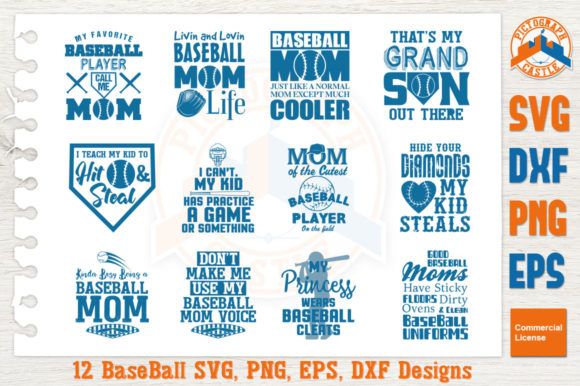 Download Free Baseball Mom Bundle Graphic By Graphicza Creative Fabrica SVG Cut Files