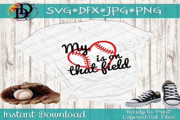 Print on Demand: Baseball SVG Graphic Crafts By dynamicdimensions