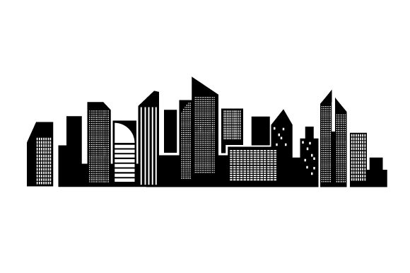 Download Free Basic Cityscape Svg Cut File By Creative Fabrica Crafts for Cricut Explore, Silhouette and other cutting machines.