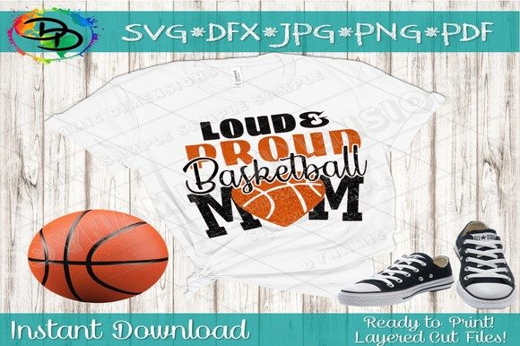 Print on Demand: Basketball Mom Graphic Crafts By dynamicdimensions