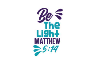 Download Free Be The Light Matthew 5 14 Quote Svg Cut Graphic By Thelucky for Cricut Explore, Silhouette and other cutting machines.