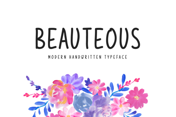Print on Demand: Beauteous Script & Handwritten Font By Shattered Notion