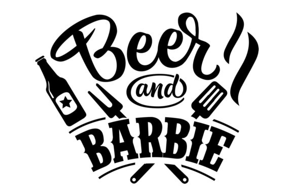 Download Free Beer And Barbie Svg Cut File By Creative Fabrica Crafts for Cricut Explore, Silhouette and other cutting machines.