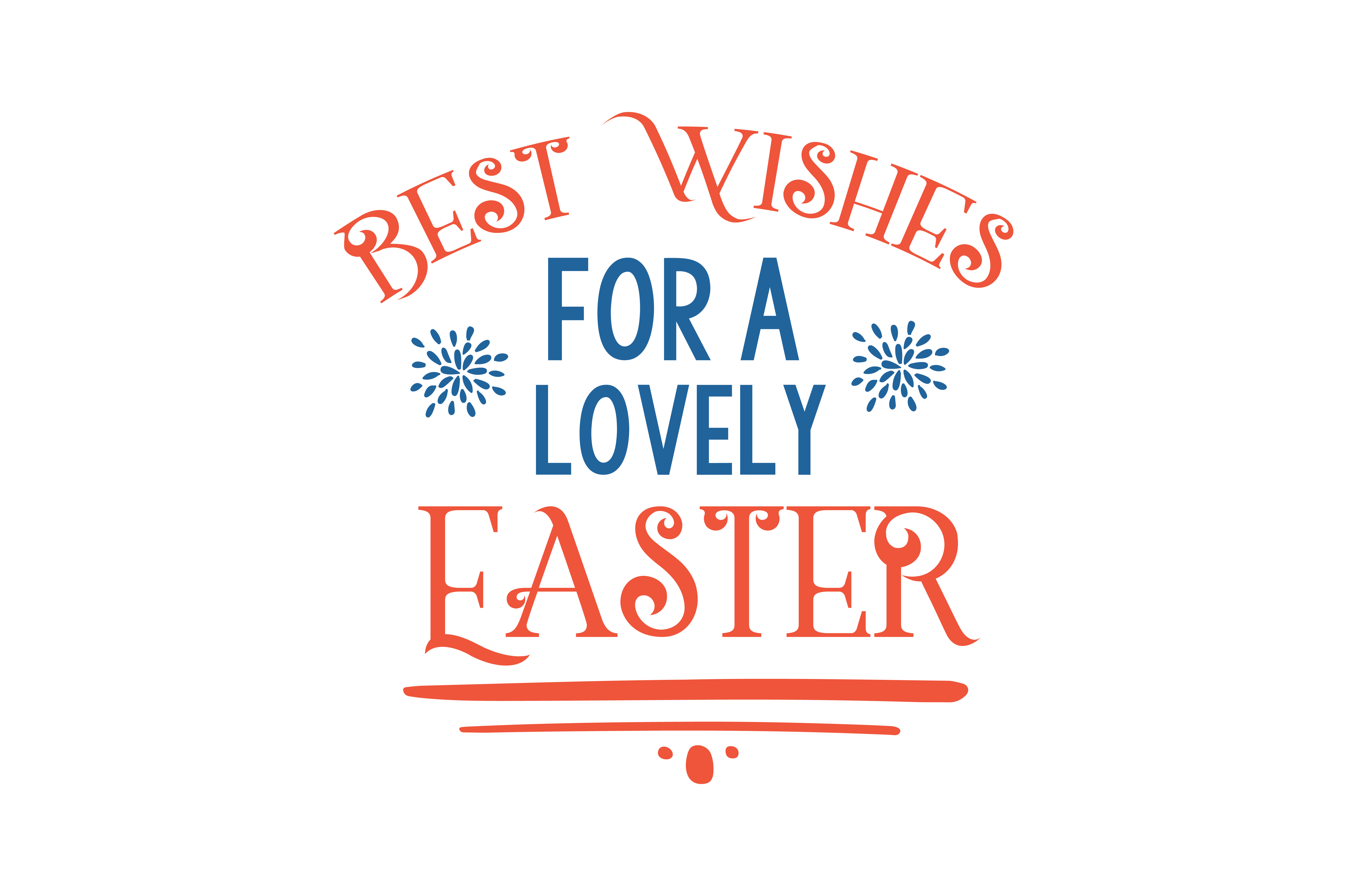 Download Free Best Wishes For A Lovely Easter Quote Svg Cut Graphic By for Cricut Explore, Silhouette and other cutting machines.