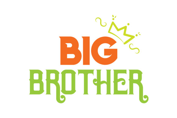 Download Free Big Brother Quote Svg Cut Graphic By Thelucky Creative Fabrica for Cricut Explore, Silhouette and other cutting machines.