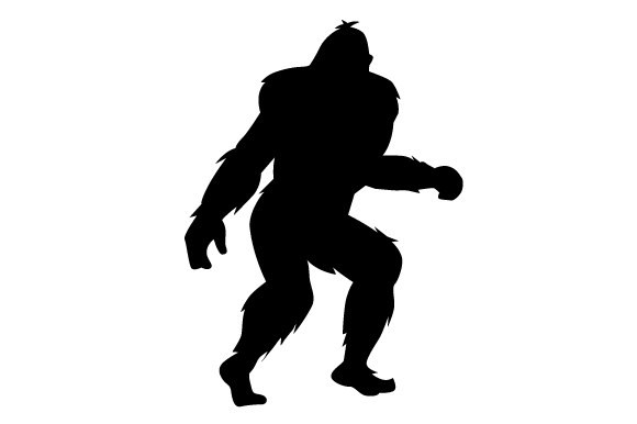 Download Free Bigfoot Silhouette Svg Cut File By Creative Fabrica Crafts for Cricut Explore, Silhouette and other cutting machines.