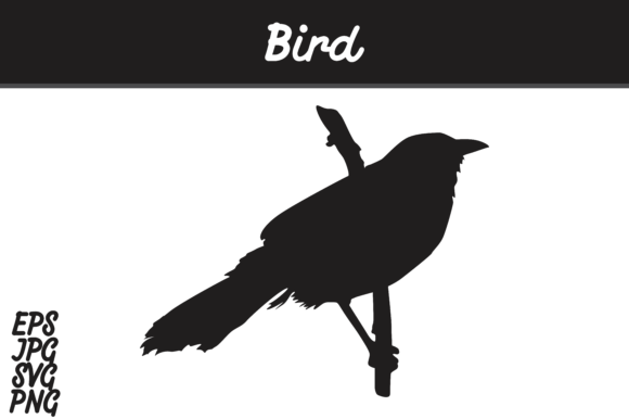Download Free Bird Silhouette Svg Vector Image Graphic By Arief Sapta Adjie Creative Fabrica for Cricut Explore, Silhouette and other cutting machines.