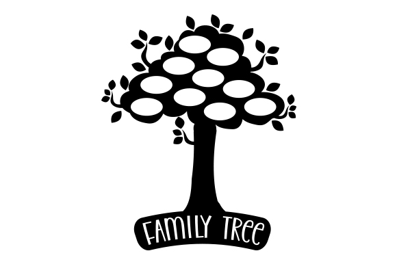 Download Free Black Family Tree Monogram Svg Cut File By Creative Fabrica for Cricut Explore, Silhouette and other cutting machines.